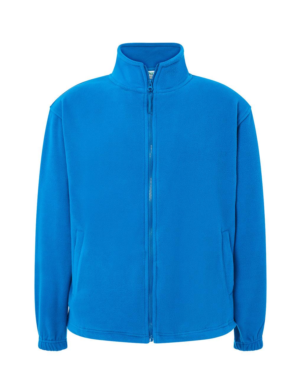 Мужская флисовая кофта JHK POLAR FLEECE MAN цвет светло-синий (AQ) L