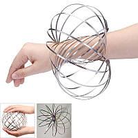 Игрушка антистресс Toroflux (Торофлакс), кинетические кольца-спираль
