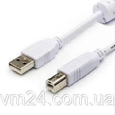 Кабель USB 2.0 (USB- USB B) для принтера.-1,8метра