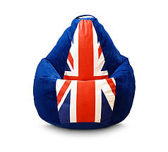 """Кресло груша """"Британский флаг"""""""