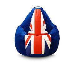 """Крісло груша """"Британський прапор"""""""