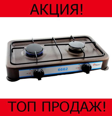 Газовая плита Dоmotec MS-6662 Brown 2кф!Хит цена