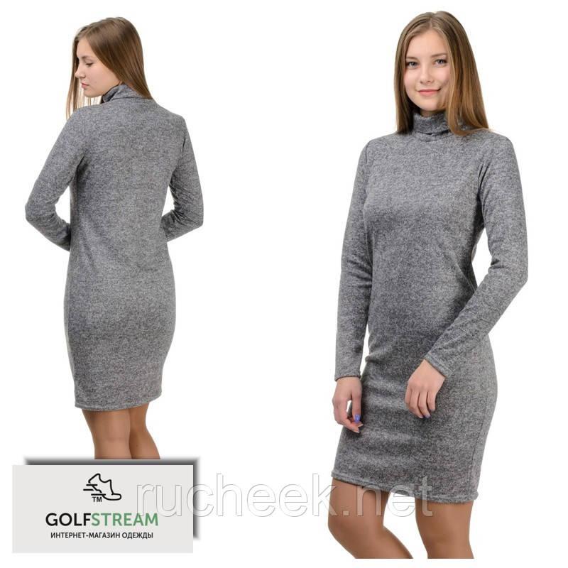 """Платье-гольф """"Monika"""" серый"""