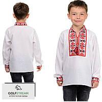 Вышиванка для мальчика Козачок ( красный), фото 1