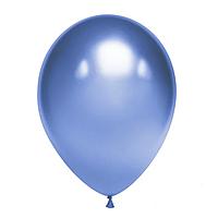 Латексные шары 12' хром Tofo Китай голубые, (30 см) 50 шт