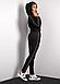 Спортивный костюм черного цвета (Код BR-SK100-03 Чорний), фото 2