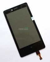 Сенсор (тач скрин) NOKIA Lumia 810 (оригинал)