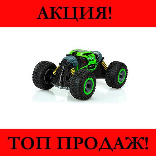 Машинка-перевертыш Leopard вездеход (Зеленая)!Хит цена