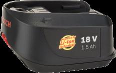 Акумулятор 18 V 1.5Ah Li-Ion BOSCH