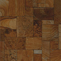400х400 Плитка пол керамогранит  Эфесо 4 коричневый, фото 1
