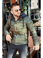 Куртка мужская freever хаки, синяя, фото 1