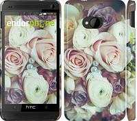 "Чехол на HTC One M7 Букет роз ""2692c-36"""