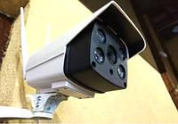 Уличная IP камера видеонаблюдения 2 mp влагозащищенная беспроводная WiFi в корпусе, фото 1