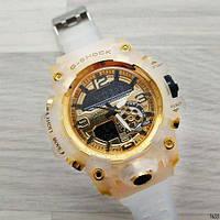 Часы наручные Casio G-Shock GG-1000 белые с золотым