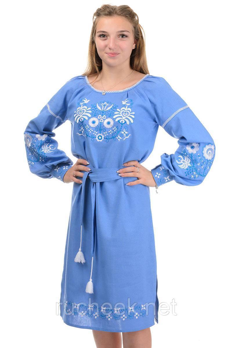 Современное платье-вышиванка Сорочинцы