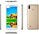 Смартфон золотистый с большим дисплеем и двойной камерой на 2 сим карты Coolpad Mega 5 gold 3/32Gb, фото 2