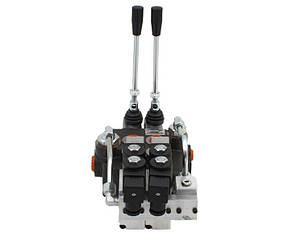 Гидрораспределитель Р80 2х секционный 80 л/мин (С электрогидравлическим управлением), фото 2