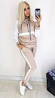 Модный стильный женский спортивный костюм (Норма, Батал)