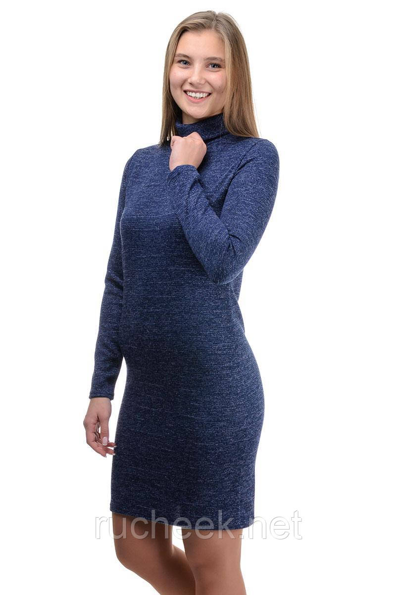 """Платье-гольф """"Monika lurex"""" (синий)"""