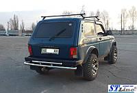 Lada Niva 2121 (78+) защитная дуга защита заднего бампера на для Лада Нива Lada Niva 2121 (78+) d60х1,6мм