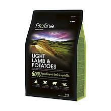 Корм для собак PROFINE LIGHT LAMB & POTATOES 3кг