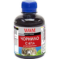 Чернила WWM Canon IPF-107Bk 200г Black (C67/B)