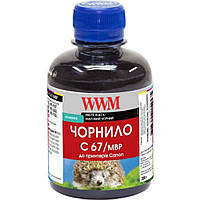 Чернила WWM Canon IPF-107MBk 200г Matte Black Pigmented (C67/MBP)