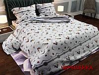 """Двуспальный набор постельного белья 180*220 из Бязи """"Gold"""" №15179 Черешенка™"""