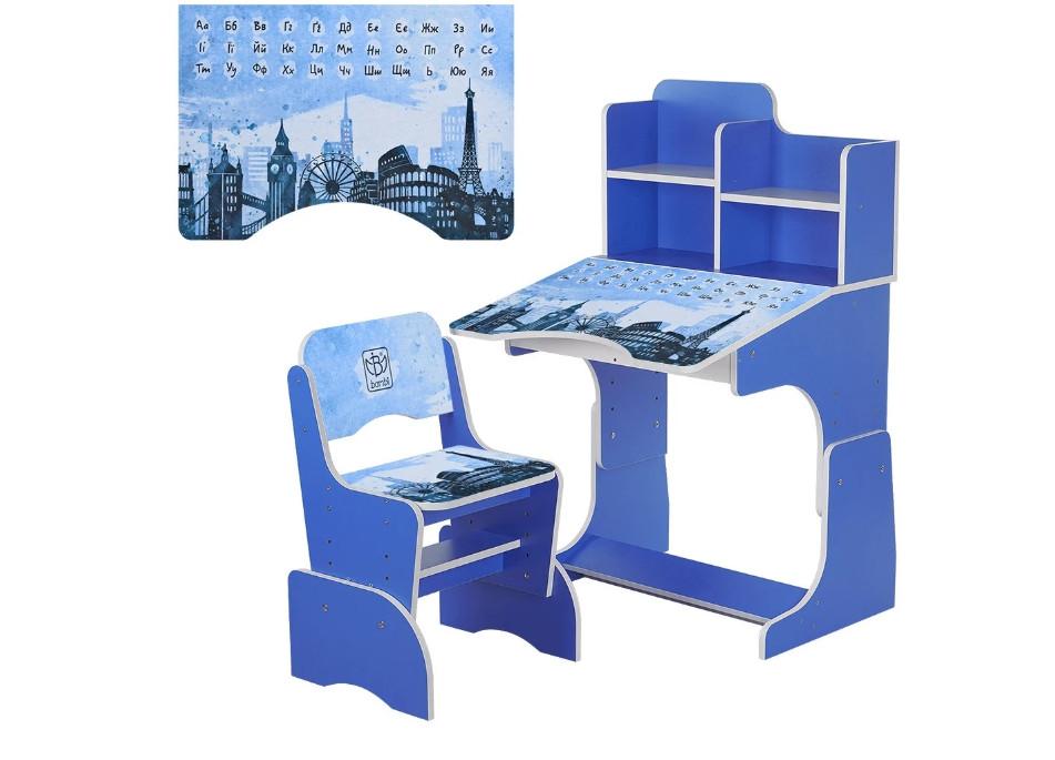 Парта Bambi 2071-40-2 со стульчиком - детская мебель