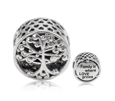 """Срібний шарм Пандора """"Родинне дерево"""""""