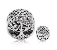 """Срібний шарм Пандора """"Родинне дерево"""", фото 1"""