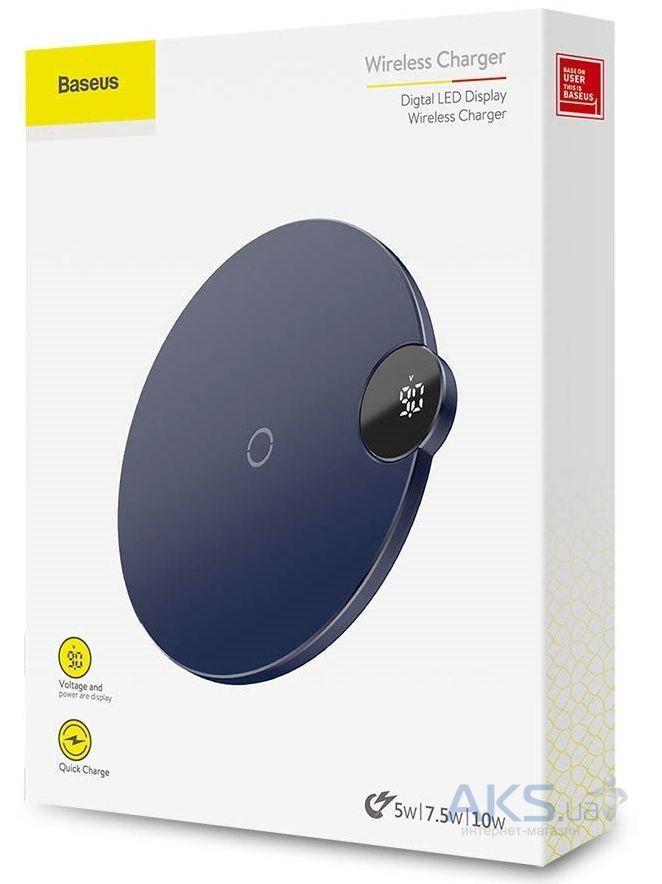 Baseus Digtal LED Display Wireless Charger (Black)
