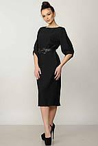 Женское однотонное платье-миди (Меган ri), фото 2