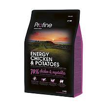 Корм для собак PROFINE ENERGY CHICKEN & POTATOES 3кг