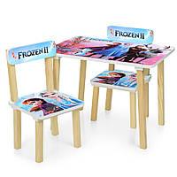 Детский стол и стульчики для девочки, фото 1