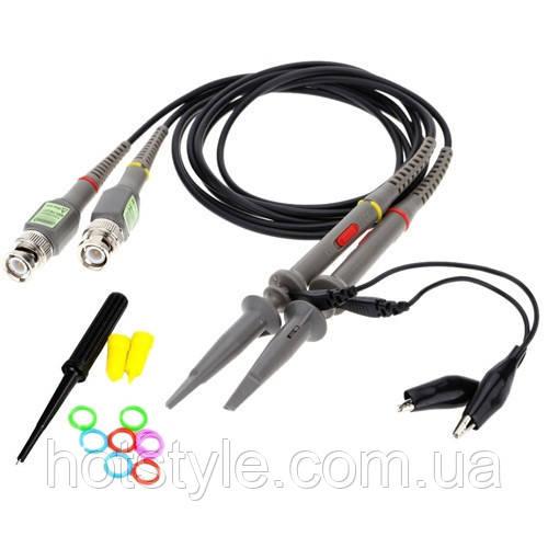 Щуп, пробник P6100 для осциллографа 100МГц, 1x/10x, ПАРА