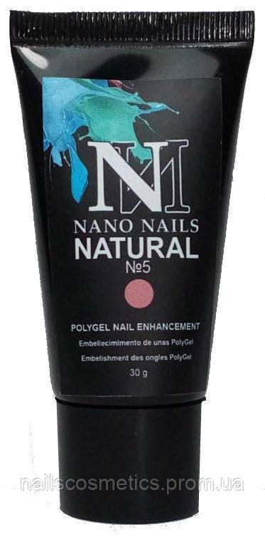 "Акригель ""NATURAL №5"" 30g NanoNails"