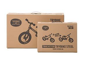 Беговел Trybike трехколесный Розовый (TBS-3-PNK-VIN), фото 3