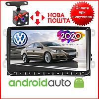 "Штатная магнитола на Volkswagen Passat B6/B7/CC/Caddy/Tiguan/Jetta/Polo/Golf  Android 8.1.0  экран 9"" Wifi, фото 1"