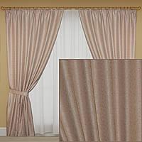 Готовые шторы жаккард для зала, гостиной Турция