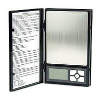 Ювелирные весы в виде блокнота до 2кг (шаг 0,1)