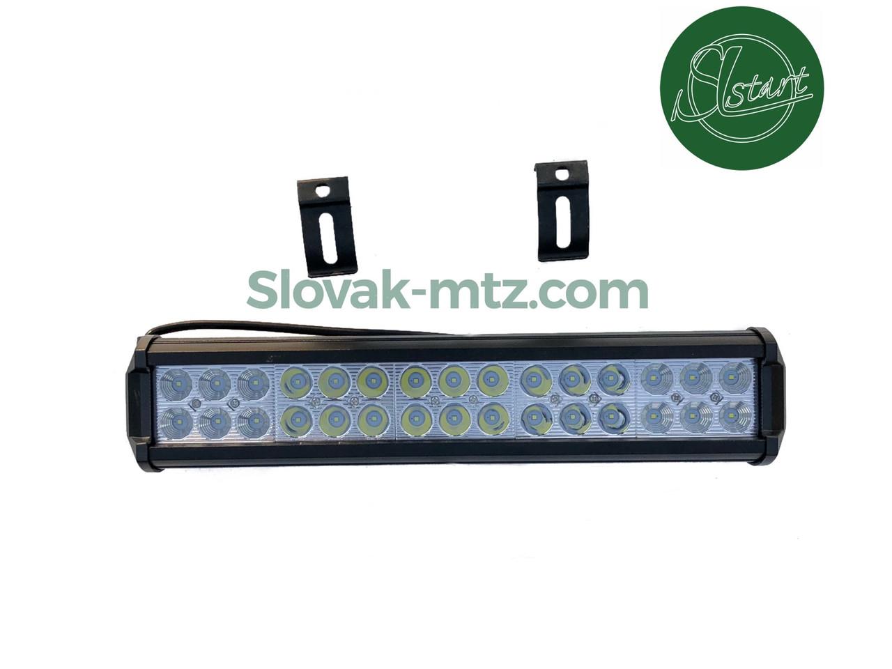 Светодиодная LED Балка (36см) 90Вт,  луч Combo (светодиоды 3w x30шт)