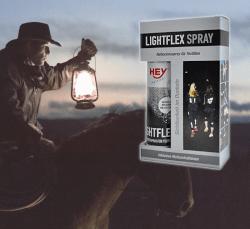 Світловідбиваюча фарба Hey-Sport Lightflex Spray 150 мл. Cветоотражающая краска в баллончиках