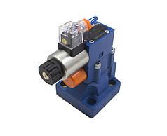 Управляемый предохранительный клапан DBW10 (нормально закрытый)