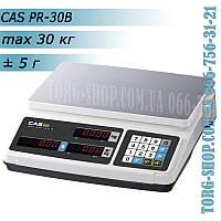 Торговые весы CAS PR-30B