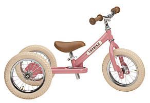 Беговел Trybike трехколесный Розовый (TBS-3-PNK-VIN), фото 2
