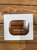 Чехол Leather Case for AirPods Pro - Saddle Brown