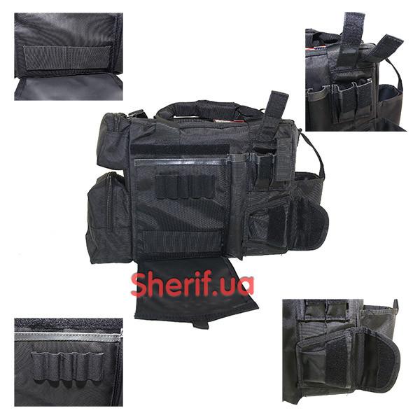 Сумка черная Security Max Fuchs  Black 30661
