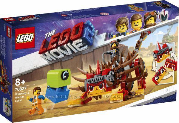 Конструктор серії LEGO Movie 2 Ультра-Киса и воин Люси