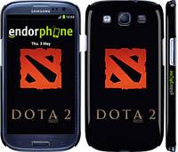 "Чехол на Samsung Galaxy S3 Duos I9300i Dota 2. Logo ""628c-50"""
